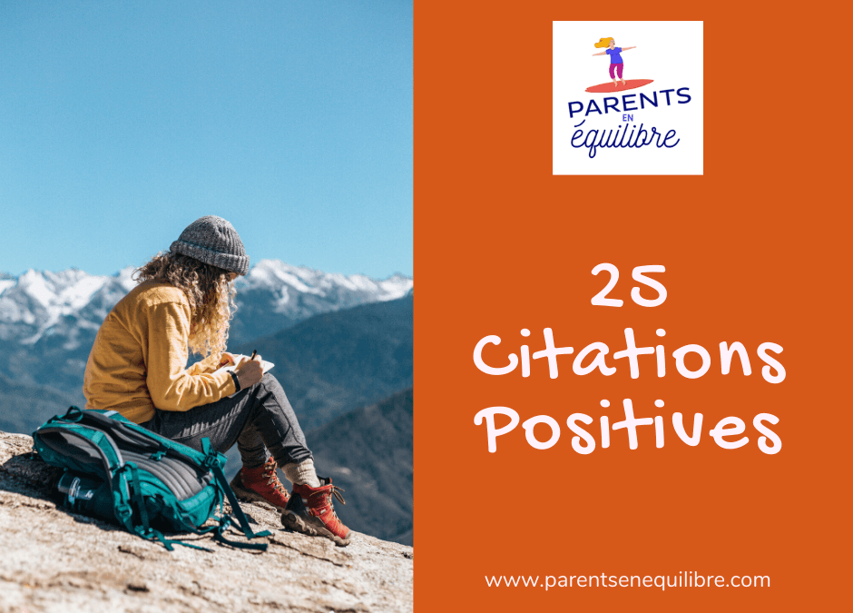 25 Citations Positives, façon Papillotes de Noël !