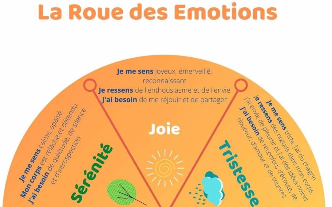 Nourrir l'Intelligence Émotionnelle des enfants, grâce à la Roue des Émotions